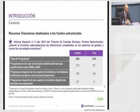 Aspectos prácticos da avaliación dun proxecto. - Xornada sobre elixibilidade, simplificación e avaliación dos fondos estruturais e de investimento europeos 2014-2020